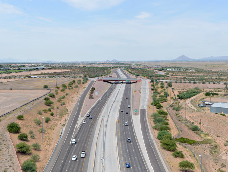 Red Mountain Freeway (SR202L), SR101L to Broadway Road Design-Build