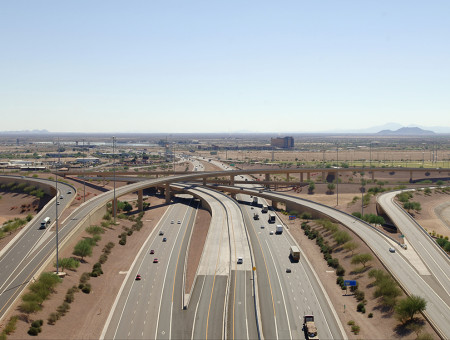 Santan Freeway (SR202L), I-10 to Gilbert Road HOV Lanes Design-Build