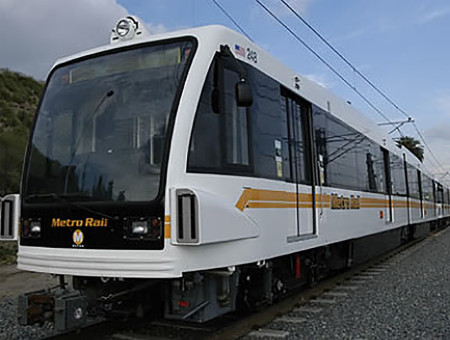 Los Angeles to Pasadena Gold Line, Light Rail Design-Build