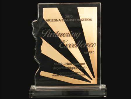 Partnering Excellence Award for Hell Canyon Bridge Urgent Repair 2013