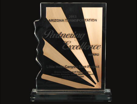 Partnering Excellence Award for Little Hells Canyon Dam Project 2013