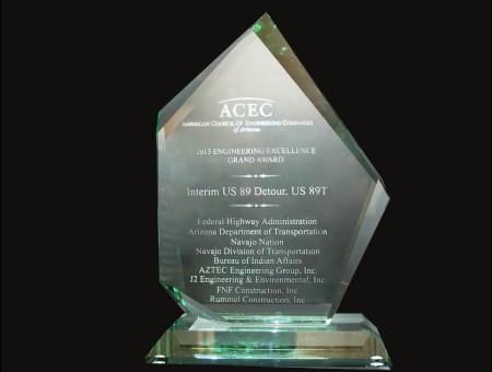 Grand Award 2013 – Iterim US89 Detour, US89T
