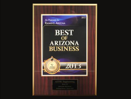 Best of Arizona Business 2013
