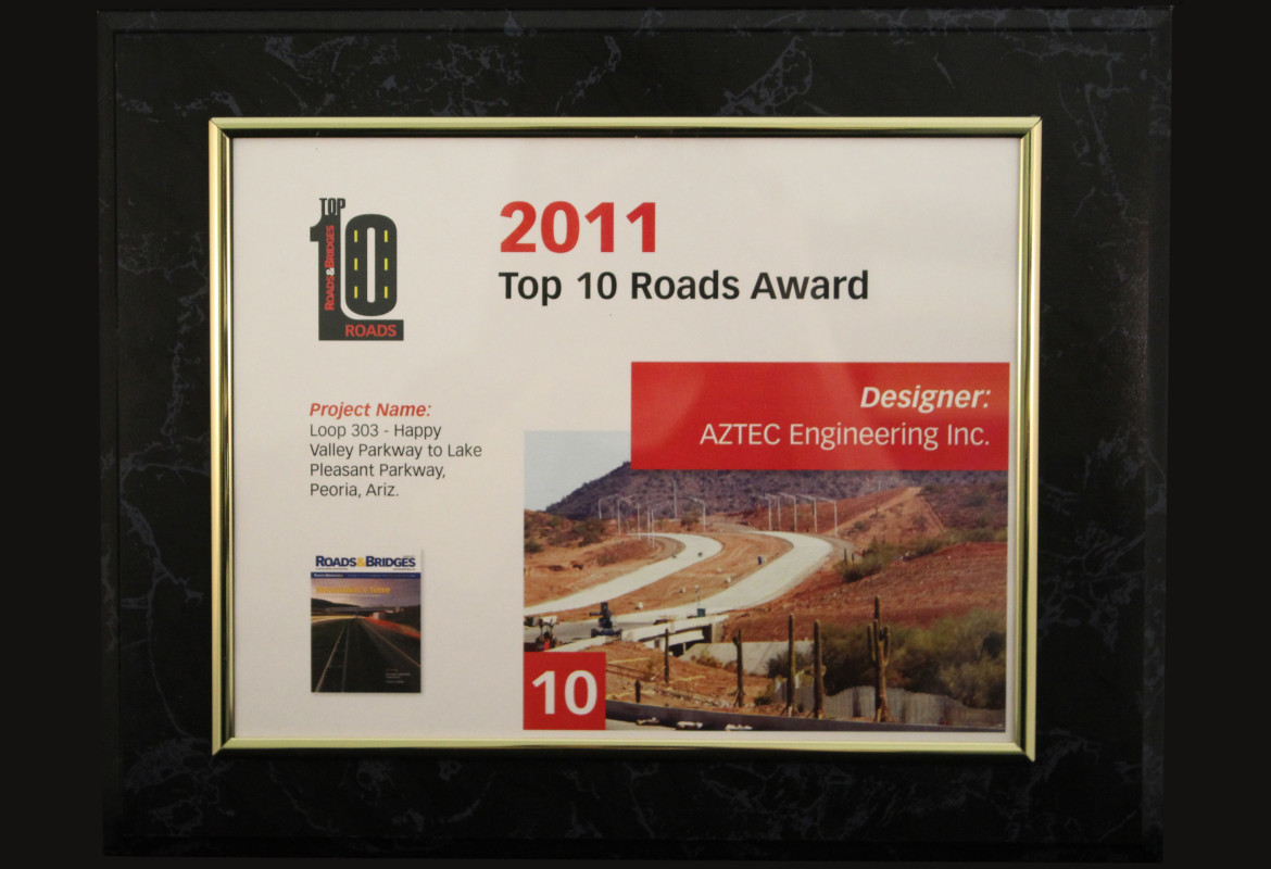 2011_Roads and Bridges_Top 10 Roads