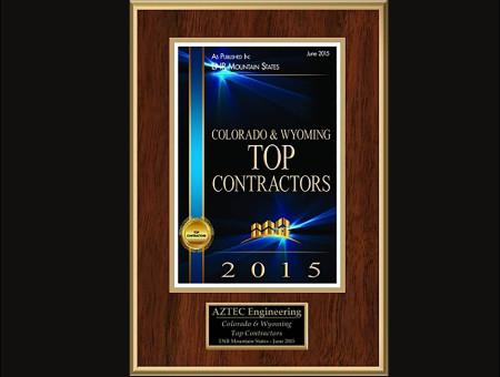 Colorado & Wyoming Top Contractors 2015