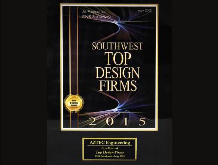 Southwest Top Design Firms 2015