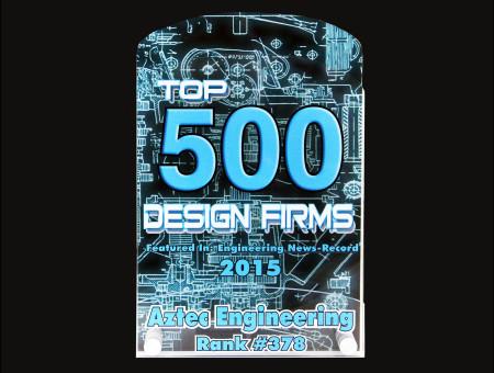Top 500 Design Firms (378 of 500) 2015