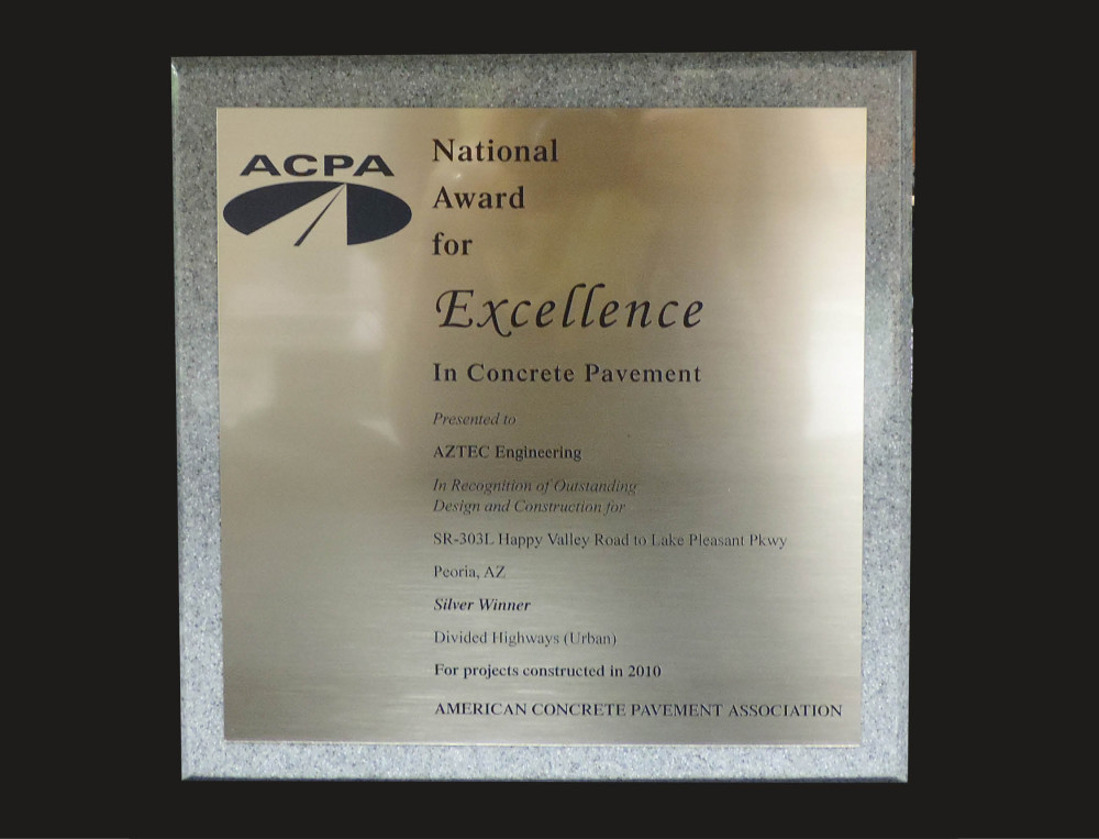 2010 ACPA Excellence in Concrete Pavement