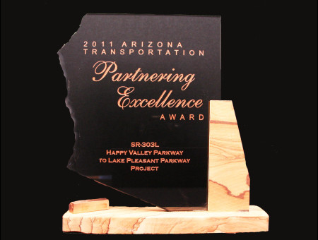 Partnering Excellence Award 2011-SR303L: Happy Valley Parkway to Lake Pleasant Parkway