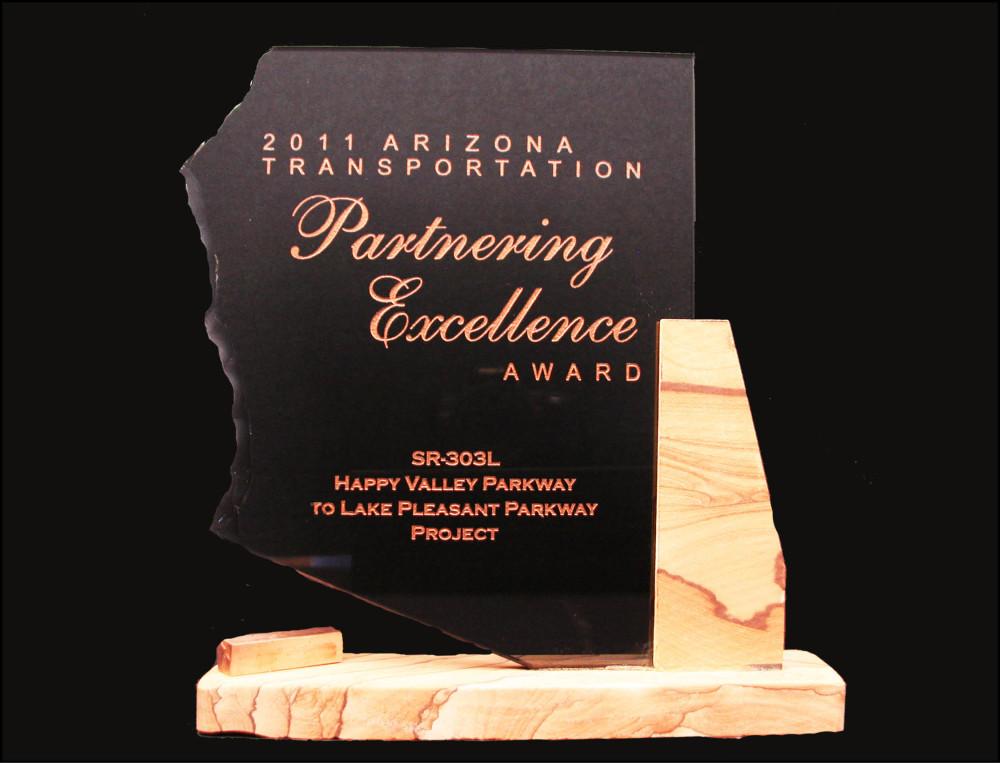 2011 AZ Transportation Partnering Excellence Award 2