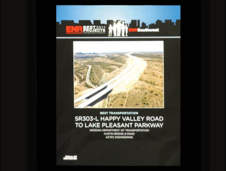 Best Transportation Project 2011-SR303L: Happy Valley Parkway to Lake Pleasant Parkway