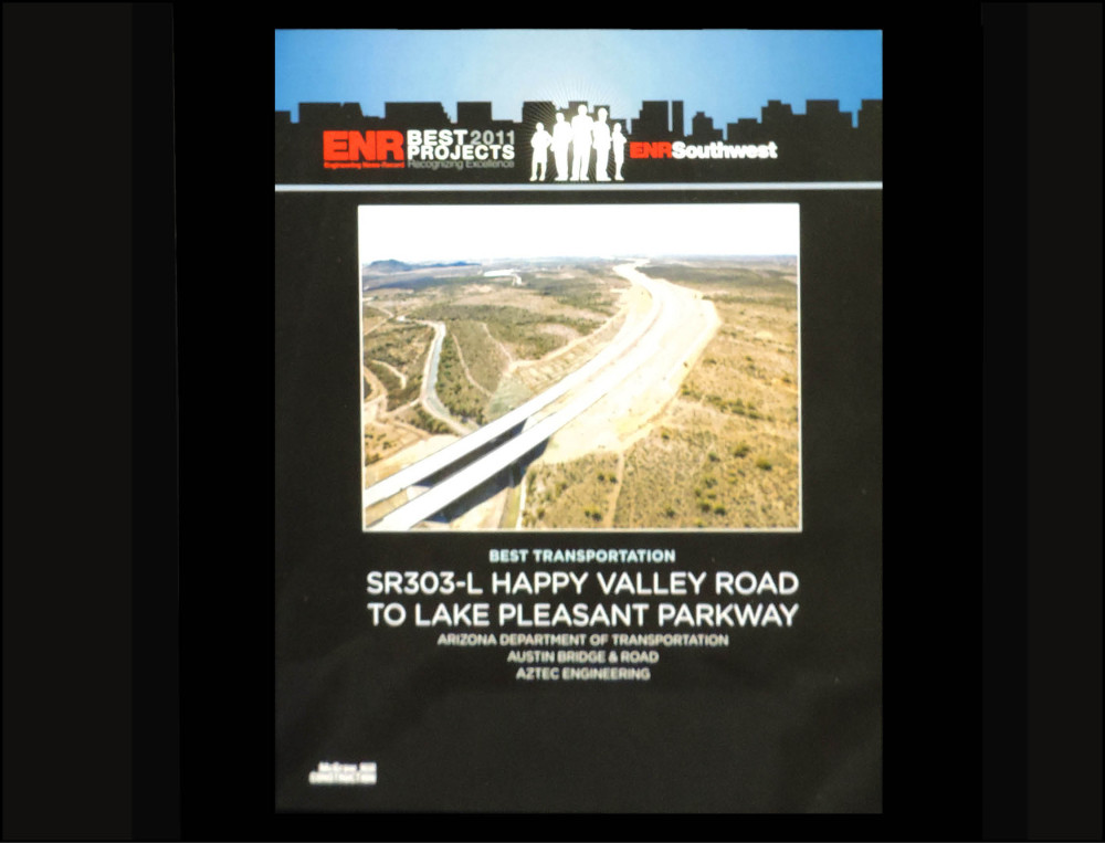 2011 ENR Best Transportation Award