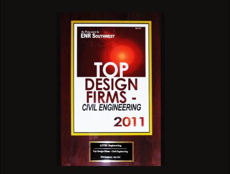 Top Design Firm – Civil Engineering 2011