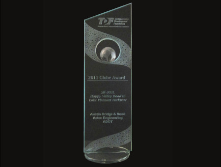 Globe Award 2011-SR303L: Happy Valley Parkway to Lake Pleasant Parkway