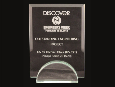 Outstanding Engineering Project 2014 – US89 Interim Detour (US89T)