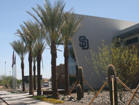 San Diego Padres/Seattle Mariners Clubhouse Renovations