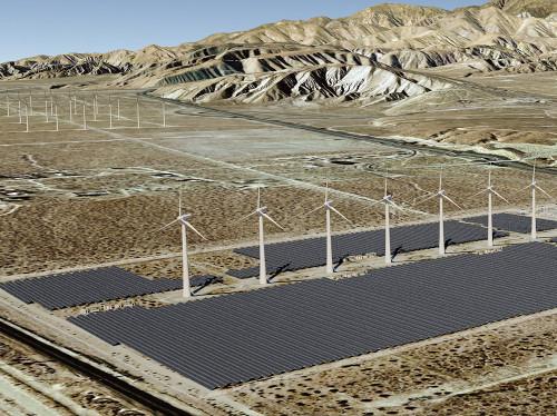 Mountain View 9 MWac Solar Plant