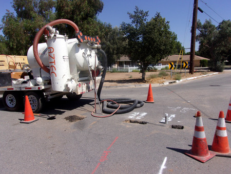 Underground Utility Potholing and Ancillary Services On-Call