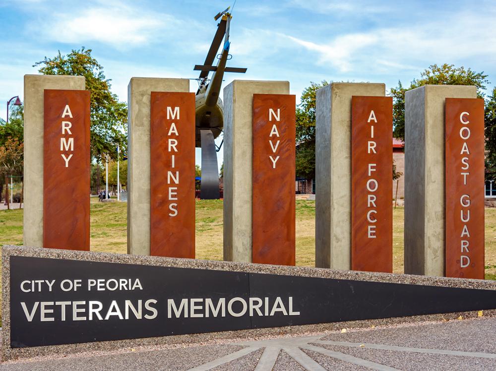 Peoria Veterans Memorial 3